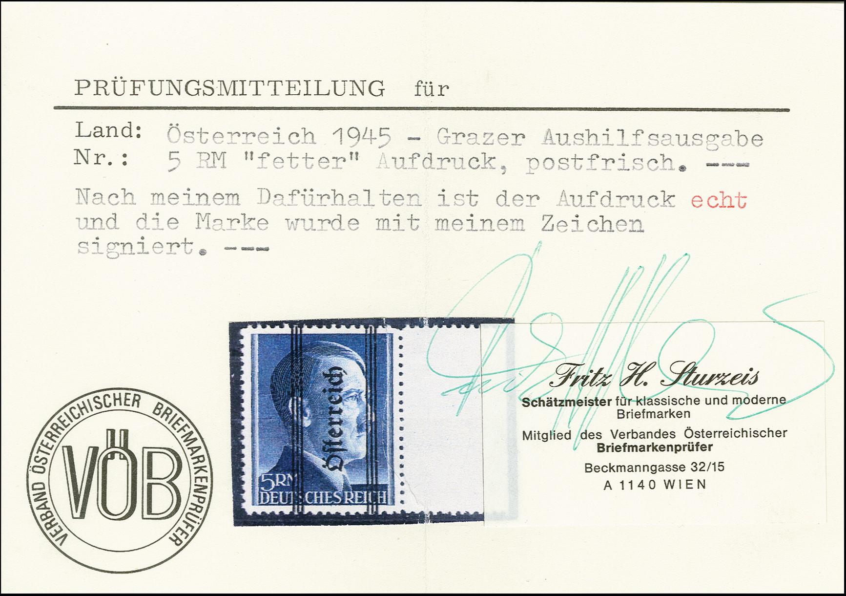 Lot 15 - europe Austria -  Heinrich Koehler Auktionen Auction #366