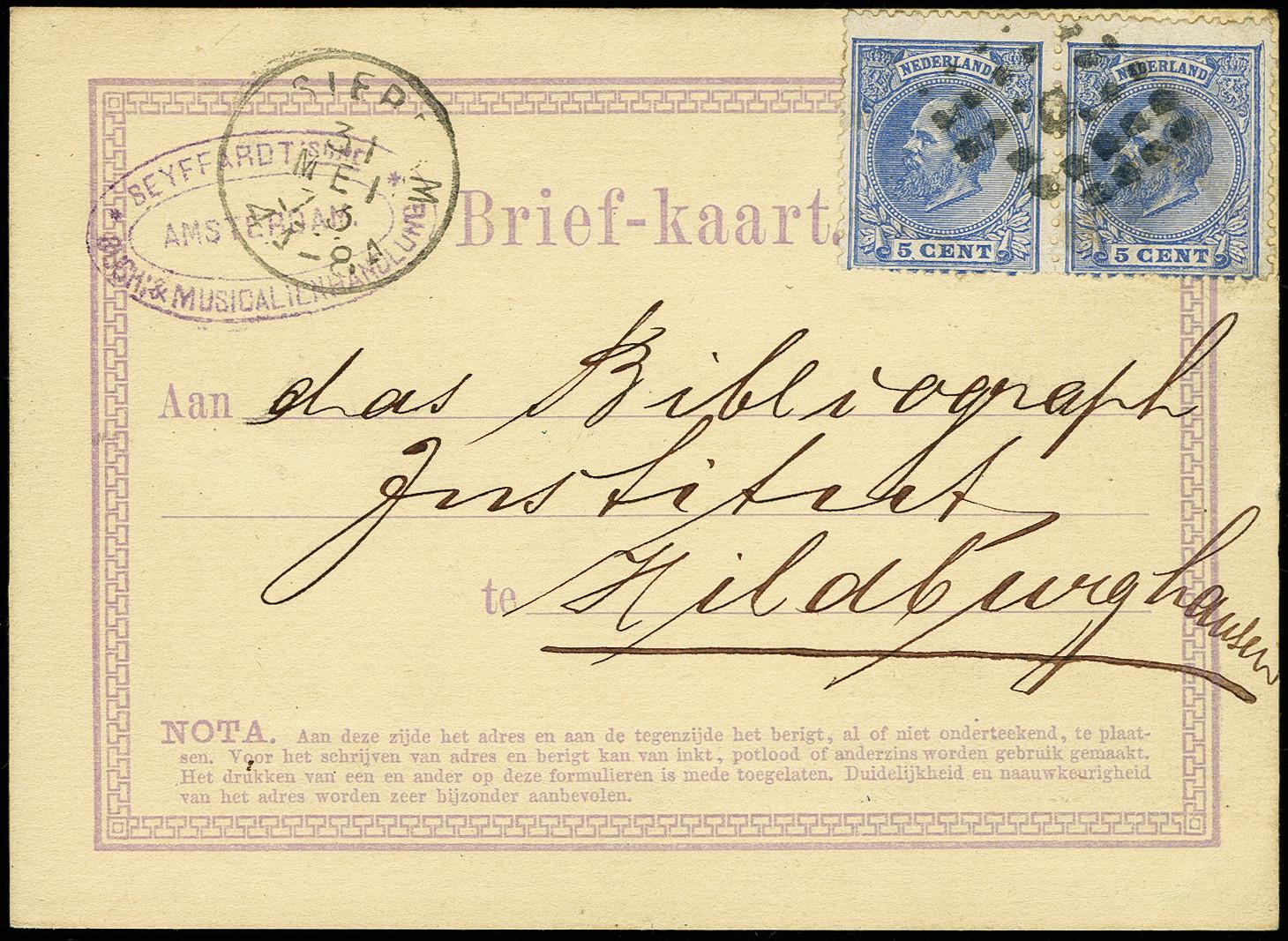 Lot 663 - europe Netherlands -  Heinrich Koehler Auktionen Auction #366
