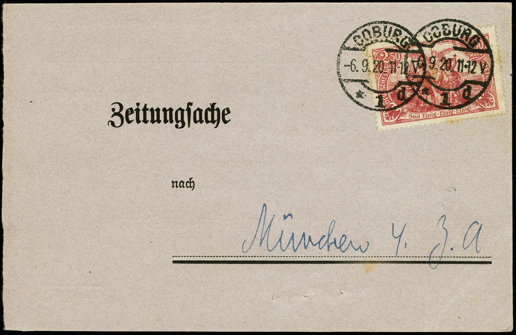 Stamp Auction - österreich zeitungsstempel - Auction #73, lot 2459