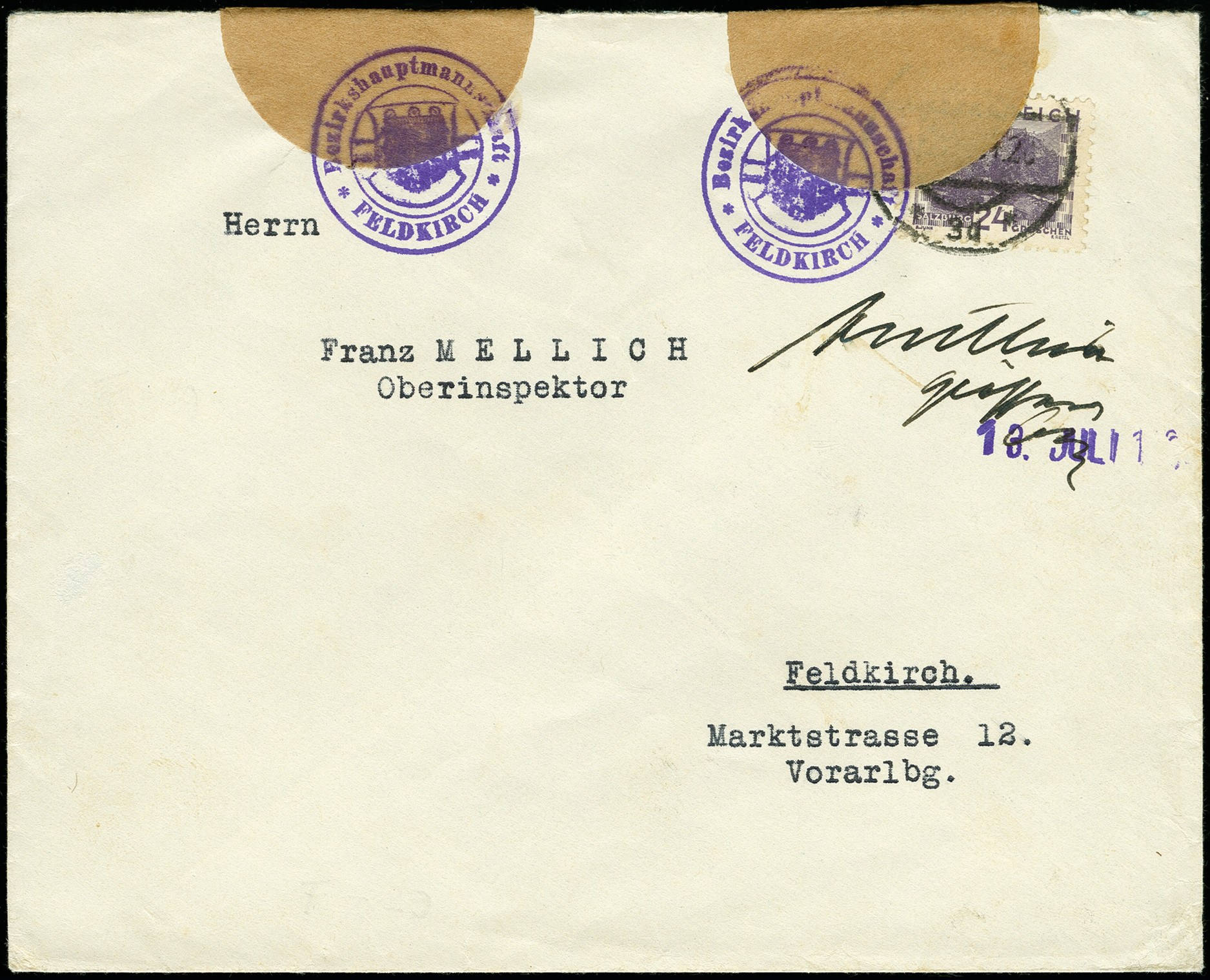 Lot 12 - europe Austria -  Heinrich Koehler Auktionen Auction #366