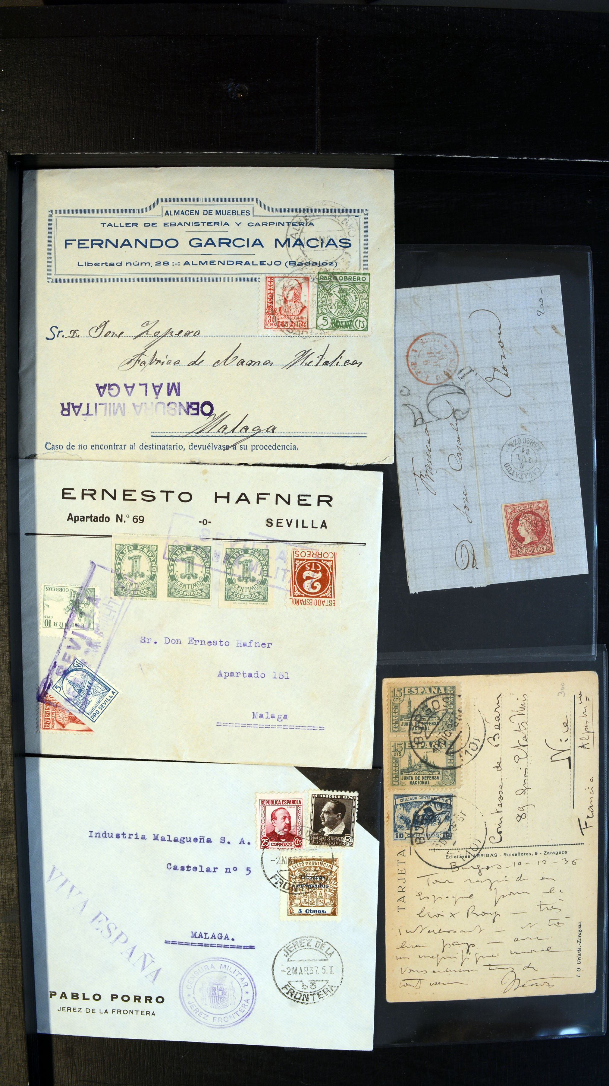 Stamp Auction Europe Spain Auction 366 Lot 3856