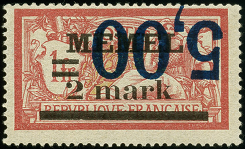 Lot 6465 - Main catalogue Memel -  Heinrich Koehler Auktionen Auction #367- Day 5