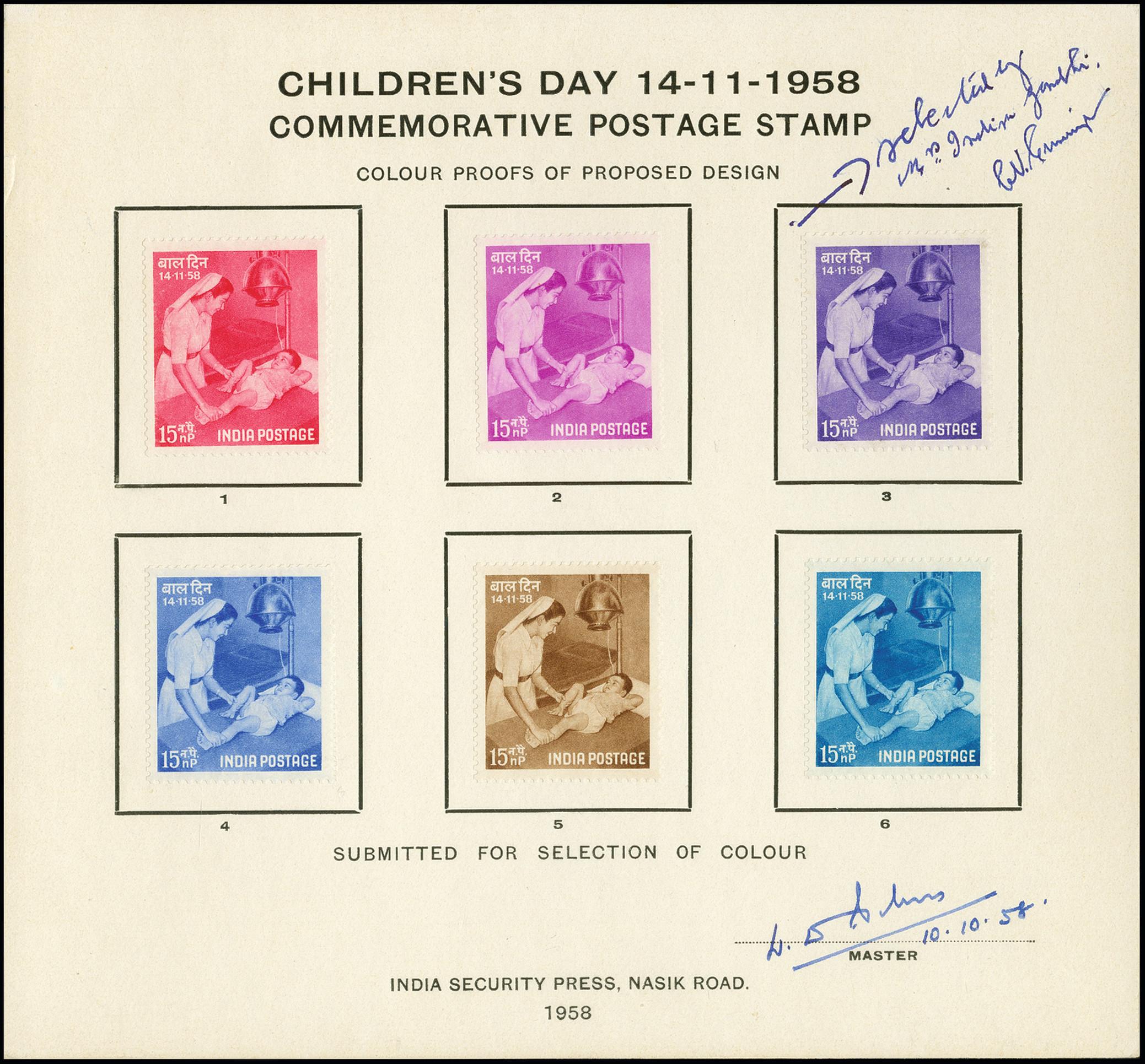 Stamp Auction - British Commonwealth india - Auction #367