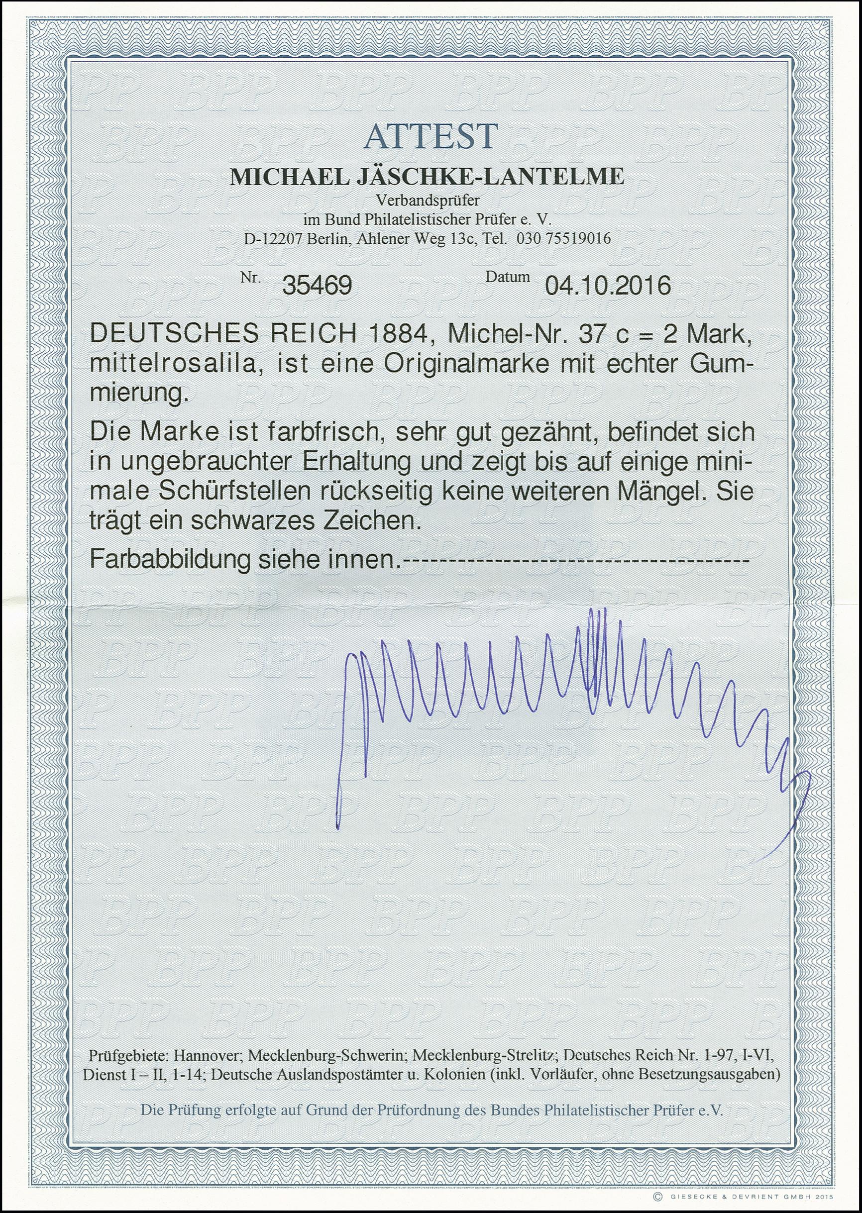 Lot 3001 - Main catalogue German Empire -  Heinrich Koehler Auktionen Auction #368- Day 5