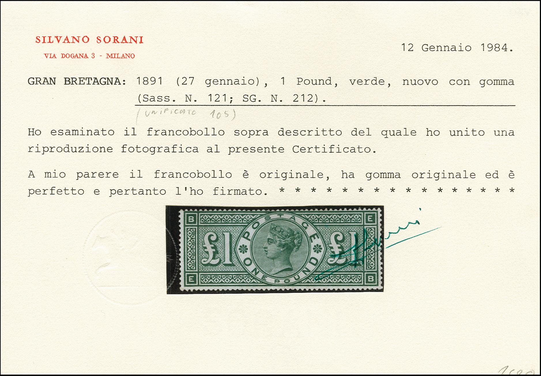 Lot 818 - Main catalogue Great Britain -  Heinrich Koehler Auktionen Auction #368- Day 1