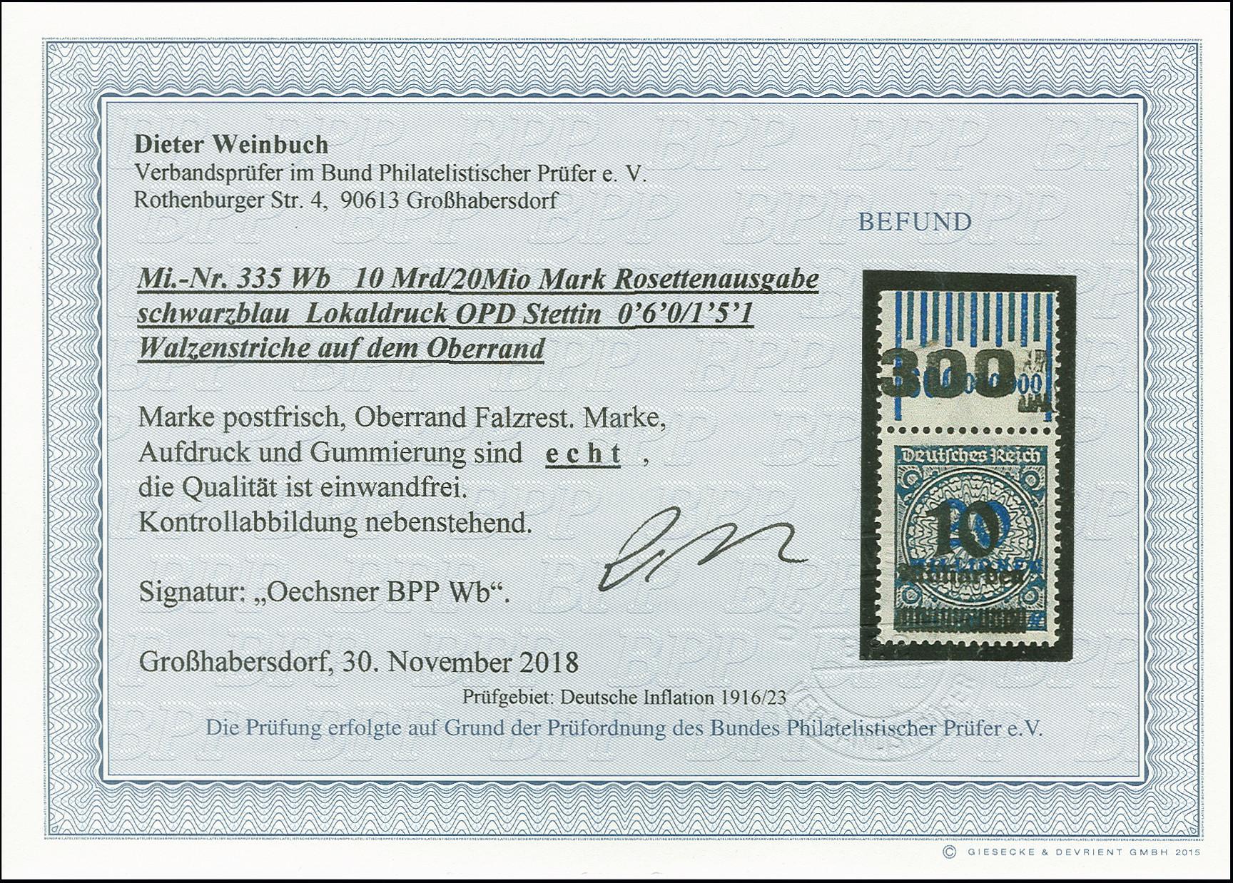 Lot 3143 - Main catalogue German Empire -  Heinrich Koehler Auktionen Auction #368- Day 5