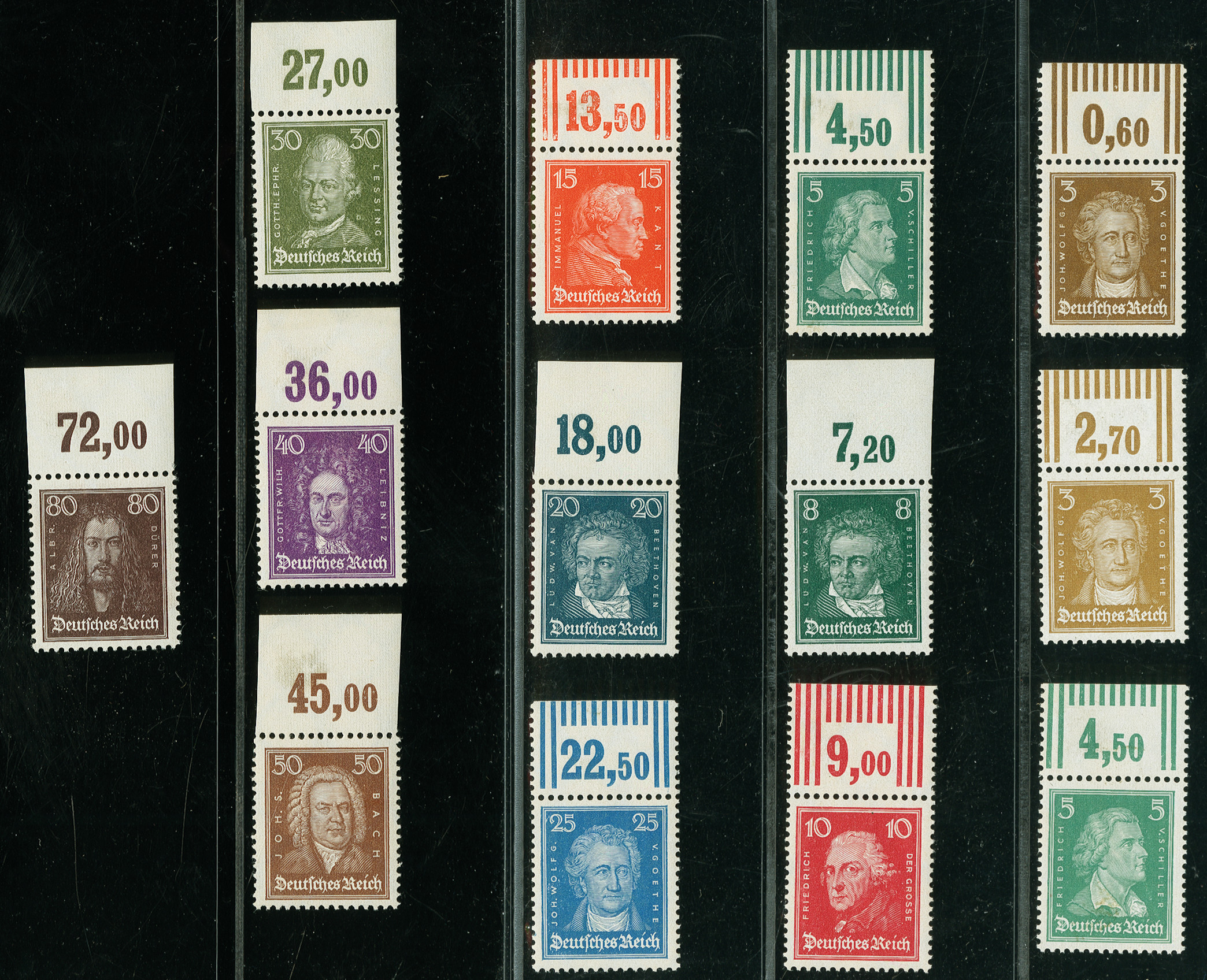 Lot 3150 - Main catalogue German Empire -  Heinrich Koehler Auktionen Auction #368- Day 5