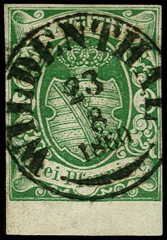 Lot 8112 - german states saxony -  Heinrich Koehler Auktionen Auction #368- Day 5