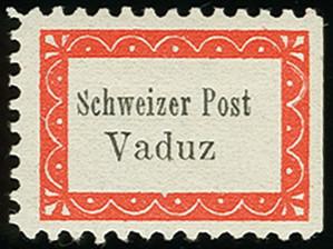 Lot 1 - Liechtenstein Botenpost Vaduz-Sevelen -  Heinrich Koehler Auktionen Auction #368- Day 1
