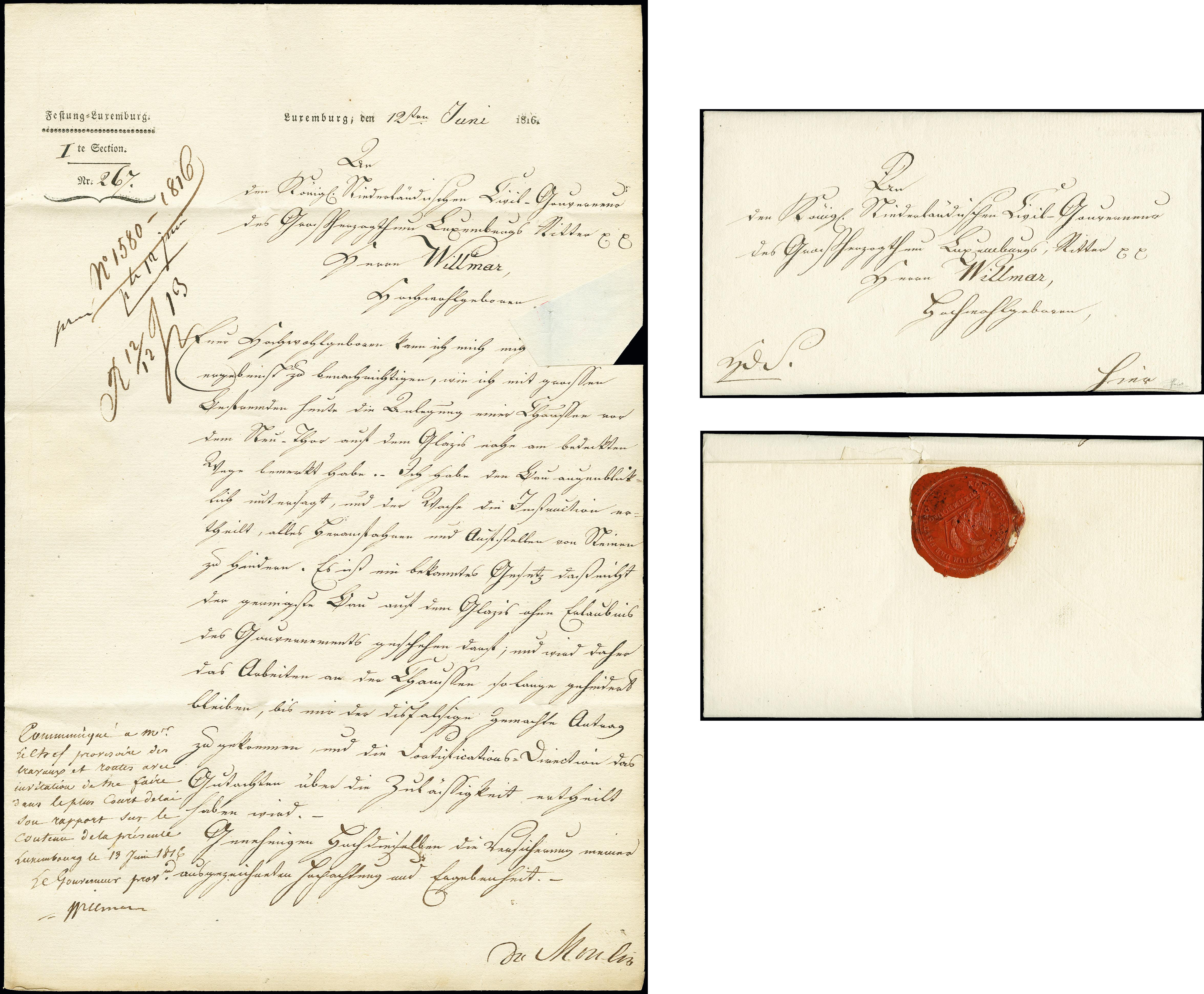 Lot 587 - europe luxemburg -  Heinrich Koehler Auktionen Auction #368- Day 1