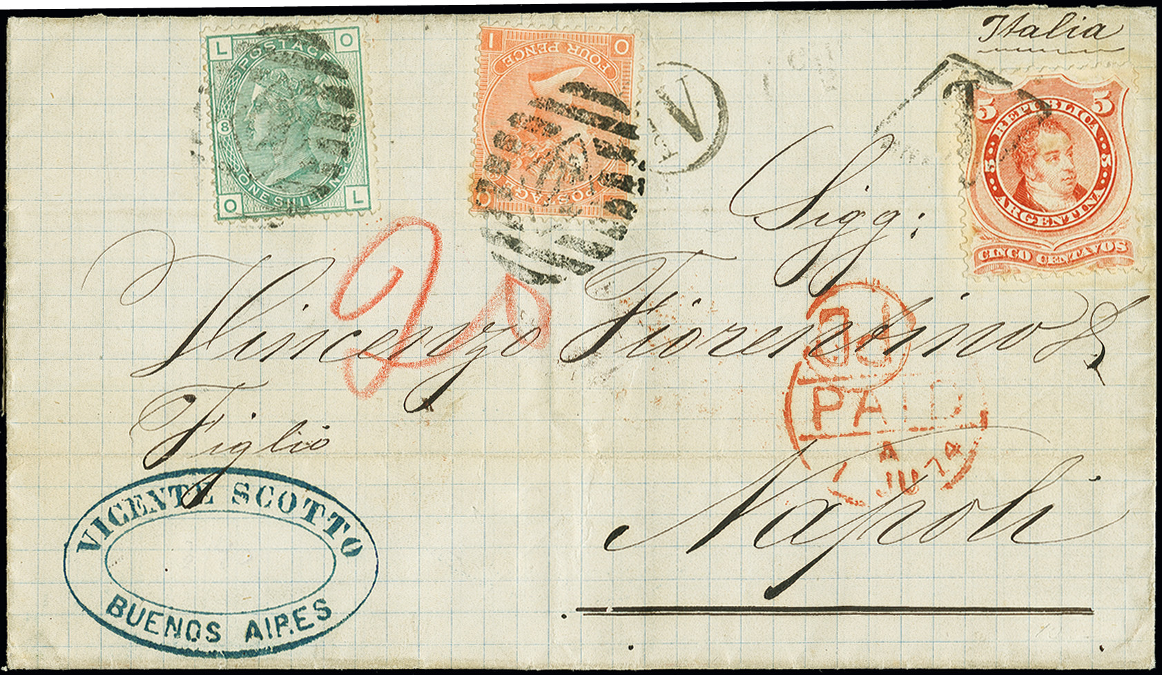 Lot 331 - Overseas Argentina -  Heinrich Koehler Auktionen Auction #368- Day 1