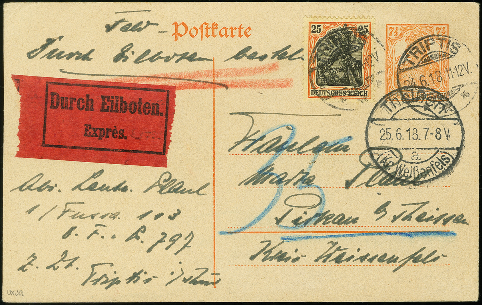 Lot 3026 - Main catalogue German Empire -  Heinrich Koehler Auktionen Auction #368- Day 5