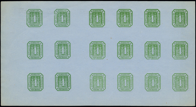 Lot 3414 - hamburg Hamburg postal stationary -  Heinrich Koehler Auktionen Auction #368- Day 5