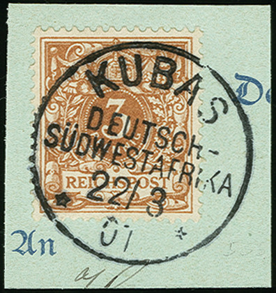 Lot 1608 - german south-west africa german south-west africa - forerunners -  Heinrich Koehler Auktionen Auction #368- Day 4