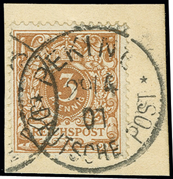 Lot 1534 - german colonies and offices abroad german post in china -  Heinrich Koehler Auktionen Auction #368- Day 4