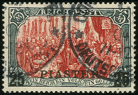Lot 1558 - german colonies and offices abroad german post in turkey -  Heinrich Koehler Auktionen Auction #368- Day 4