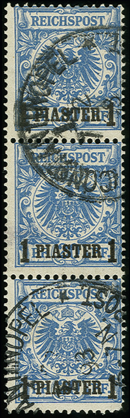 Lot 1557 - german colonies and offices abroad german post in turkey -  Heinrich Koehler Auktionen Auction #368- Day 4