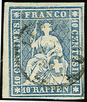 Lot 59 - Switzerland swiss federal post -  Heinrich Koehler Auktionen Auction #368- Day 1