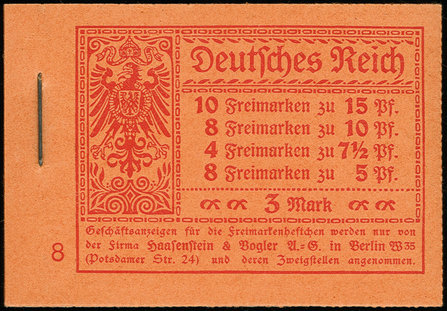 Lot 3188 - German Empire german empire - se-tenants -  Heinrich Koehler Auktionen Auction #368- Day 5