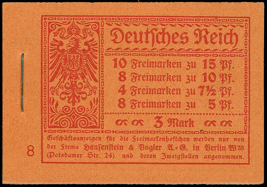 Lot 3189 - German Empire german empire - se-tenants -  Heinrich Koehler Auktionen Auction #368- Day 5