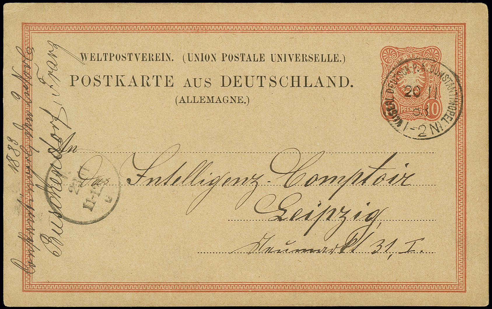 Lot 1560 - german colonies and offices abroad german post in turkey -  Heinrich Koehler Auktionen Auction #368- Day 4