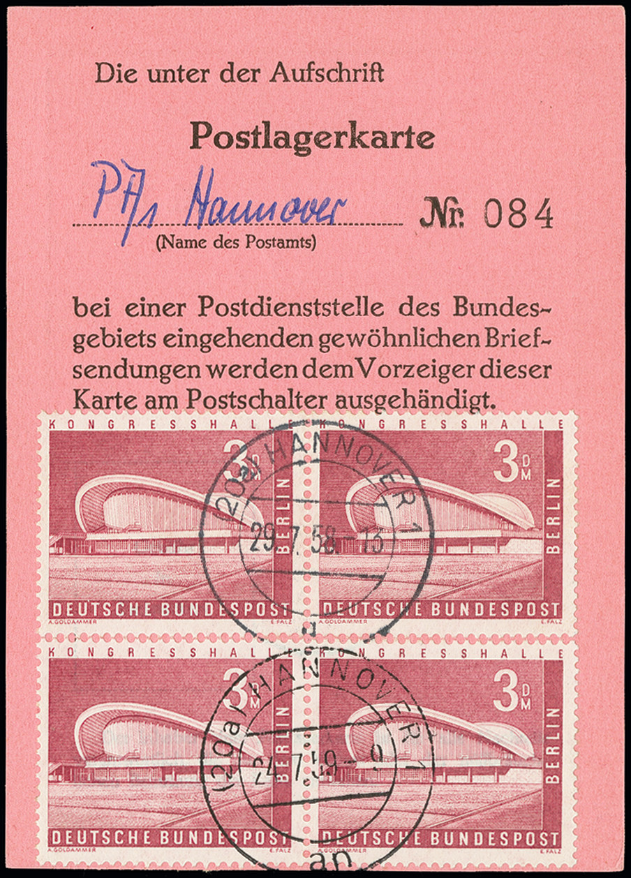 Stamp Auction Germany After 1945 Berlin Auction 368 Day 4 Lot
