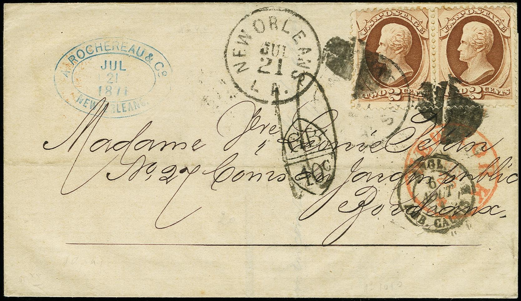Lot 1141 - Overseas United States of America -  Heinrich Koehler Auktionen Auction #368- Day 1