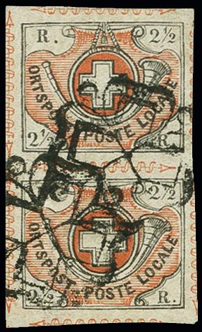 Lot 56 - Switzerland swiss federal post -  Heinrich Koehler Auktionen Auction #368- Day 1