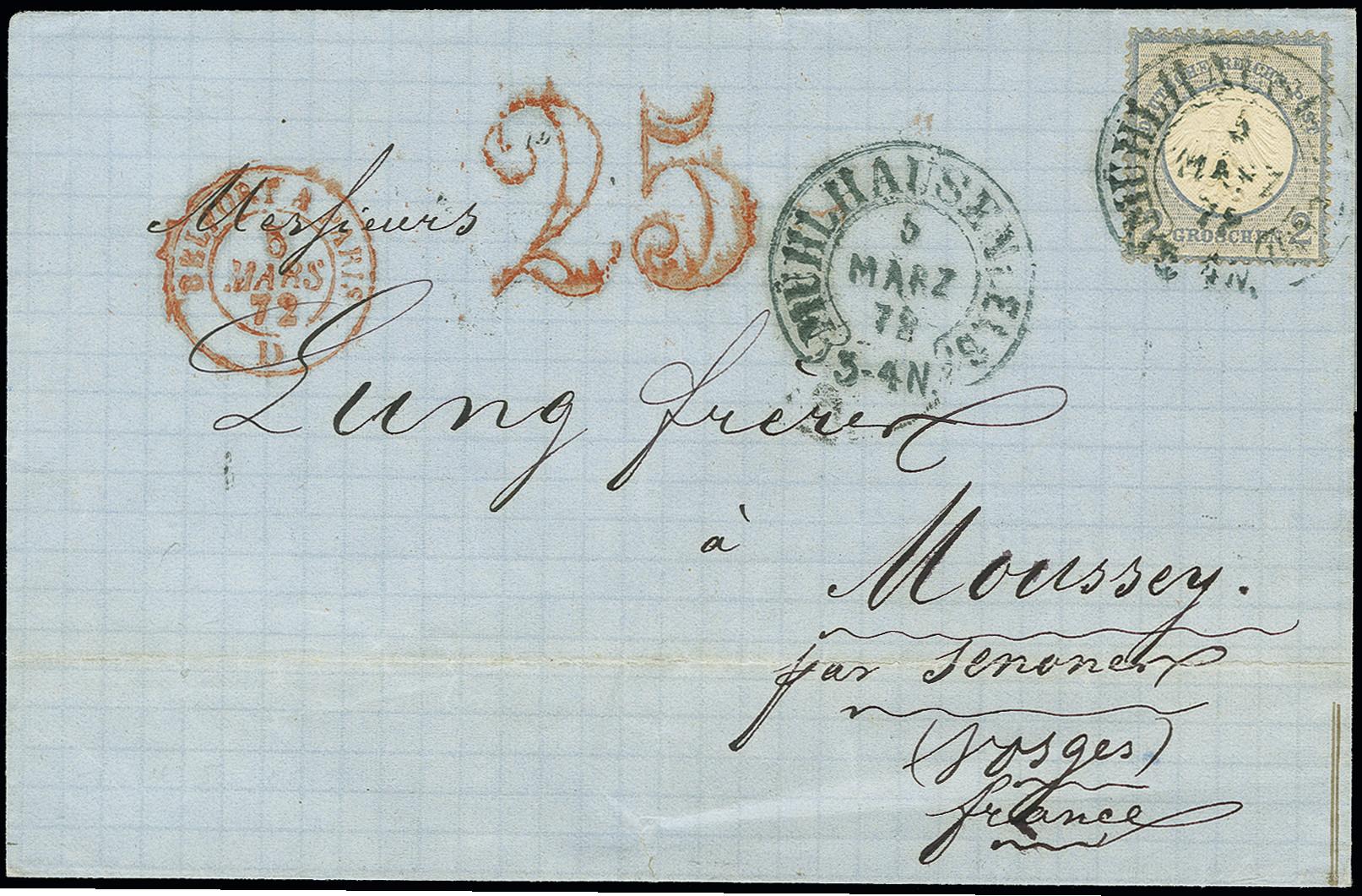 Lot 2989 - Main catalogue German Empire -  Heinrich Koehler Auktionen Auction #368- Day 5