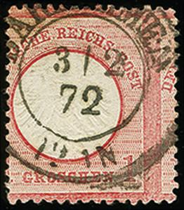 Lot 2983 - Main catalogue German Empire -  Heinrich Koehler Auktionen Auction #368- Day 5