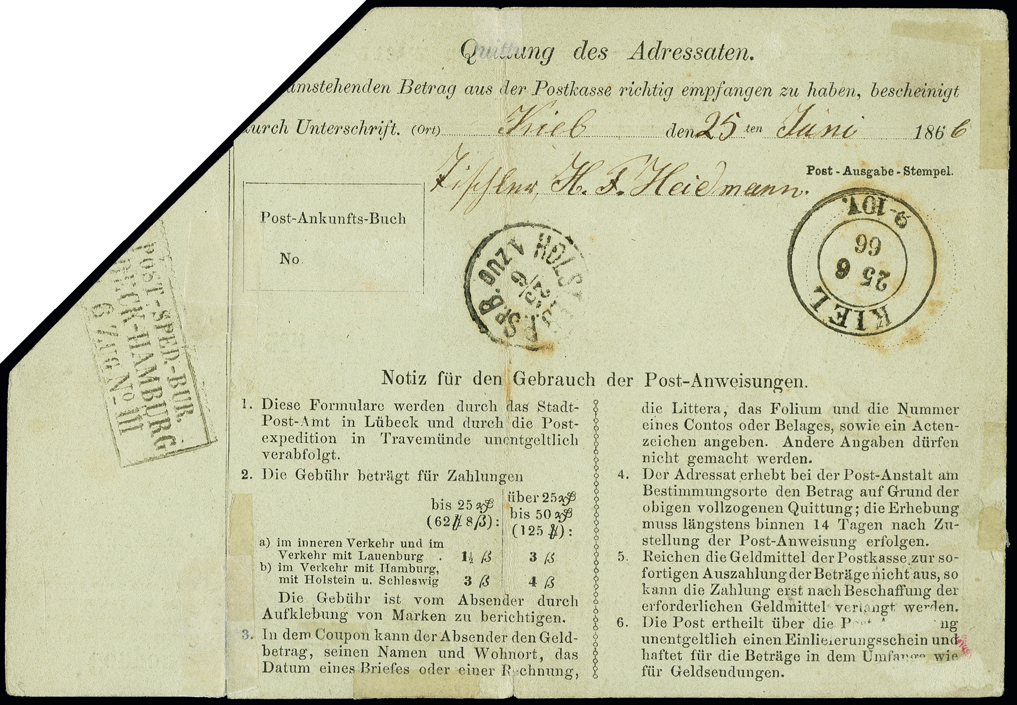Lot 3424 - german states lübeck -  Heinrich Koehler Auktionen Auction #368- Day 5