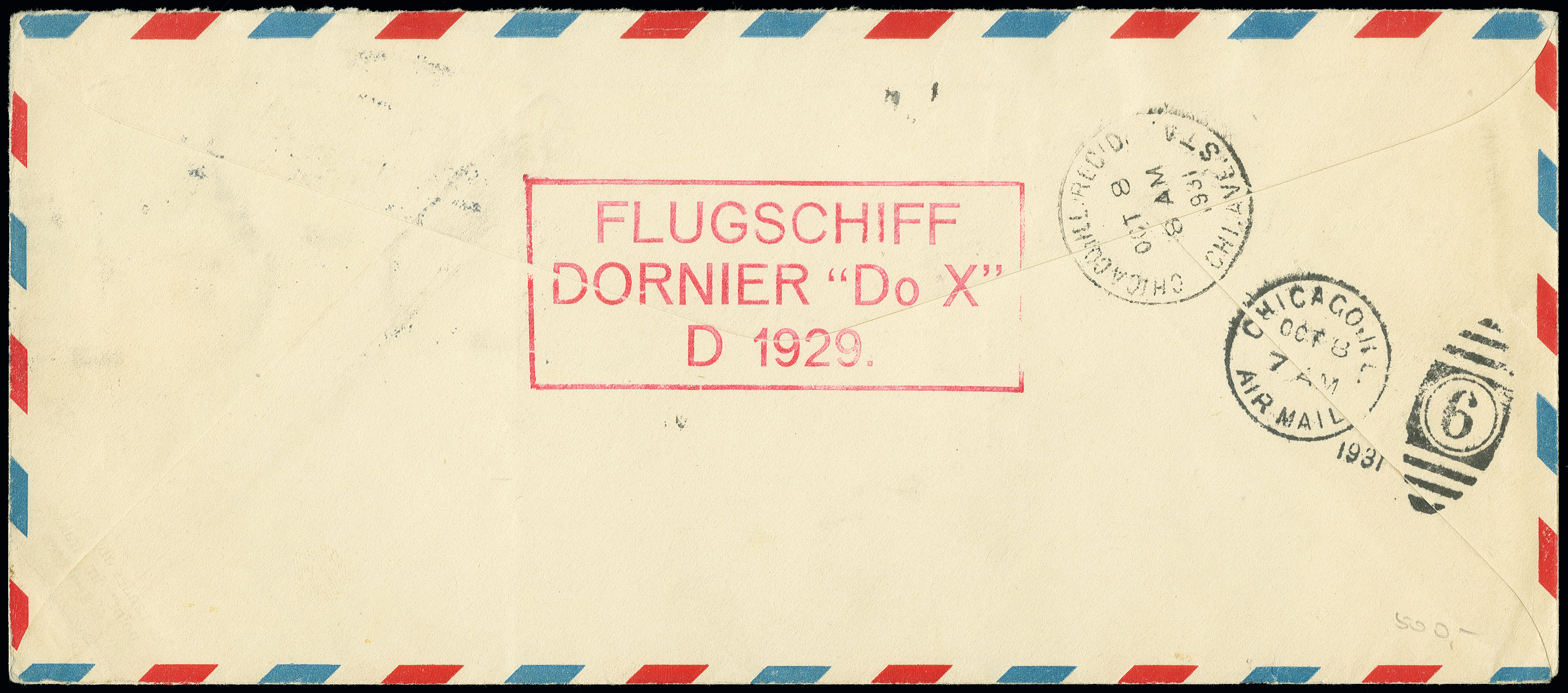 Lot 1155 - airmail dox -  Heinrich Koehler Auktionen Auction #368- Day 2