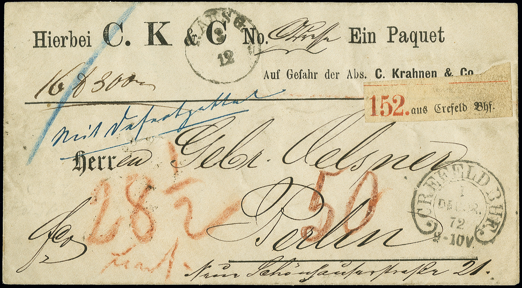 Lot 2986 - Main catalogue German Empire -  Heinrich Koehler Auktionen Auction #368- Day 5