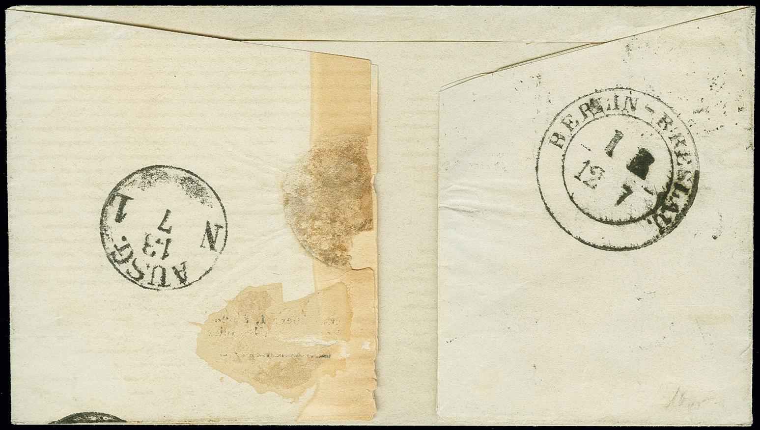 Lot 3446 - prussia prussia - cancellations -  Heinrich Koehler Auktionen Auction #368- Day 5