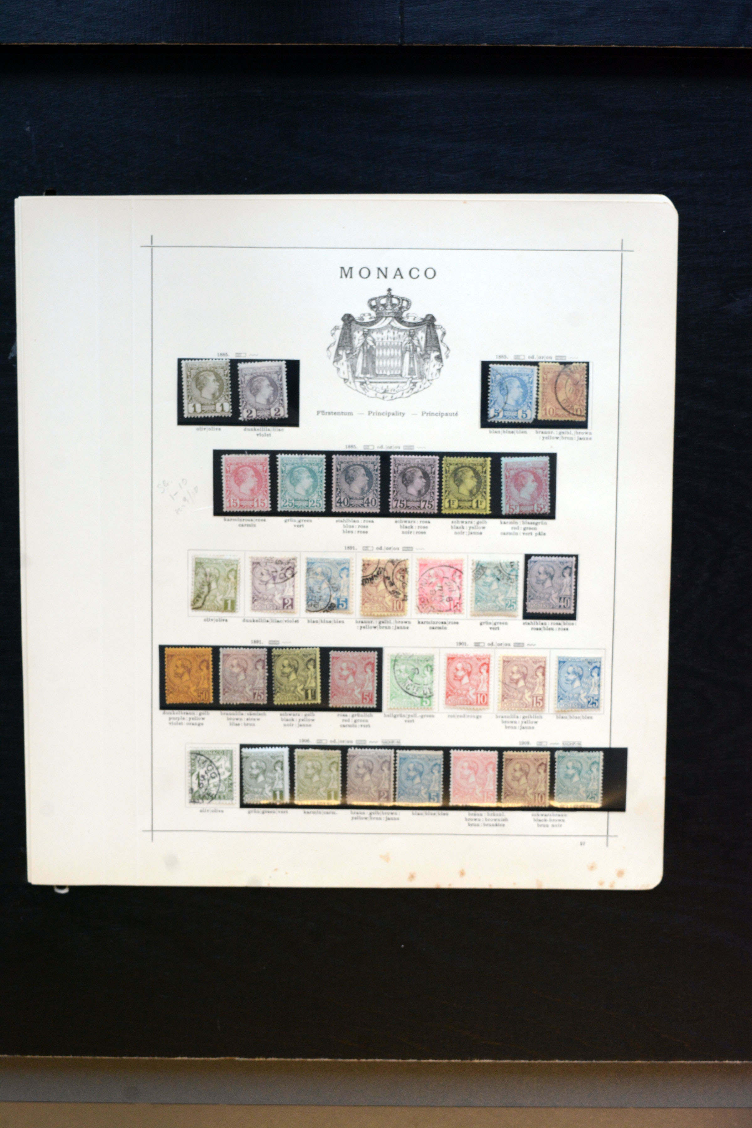 Lot 4275 - europe Monaco -  Heinrich Koehler Auktionen Auction #368- Day 3