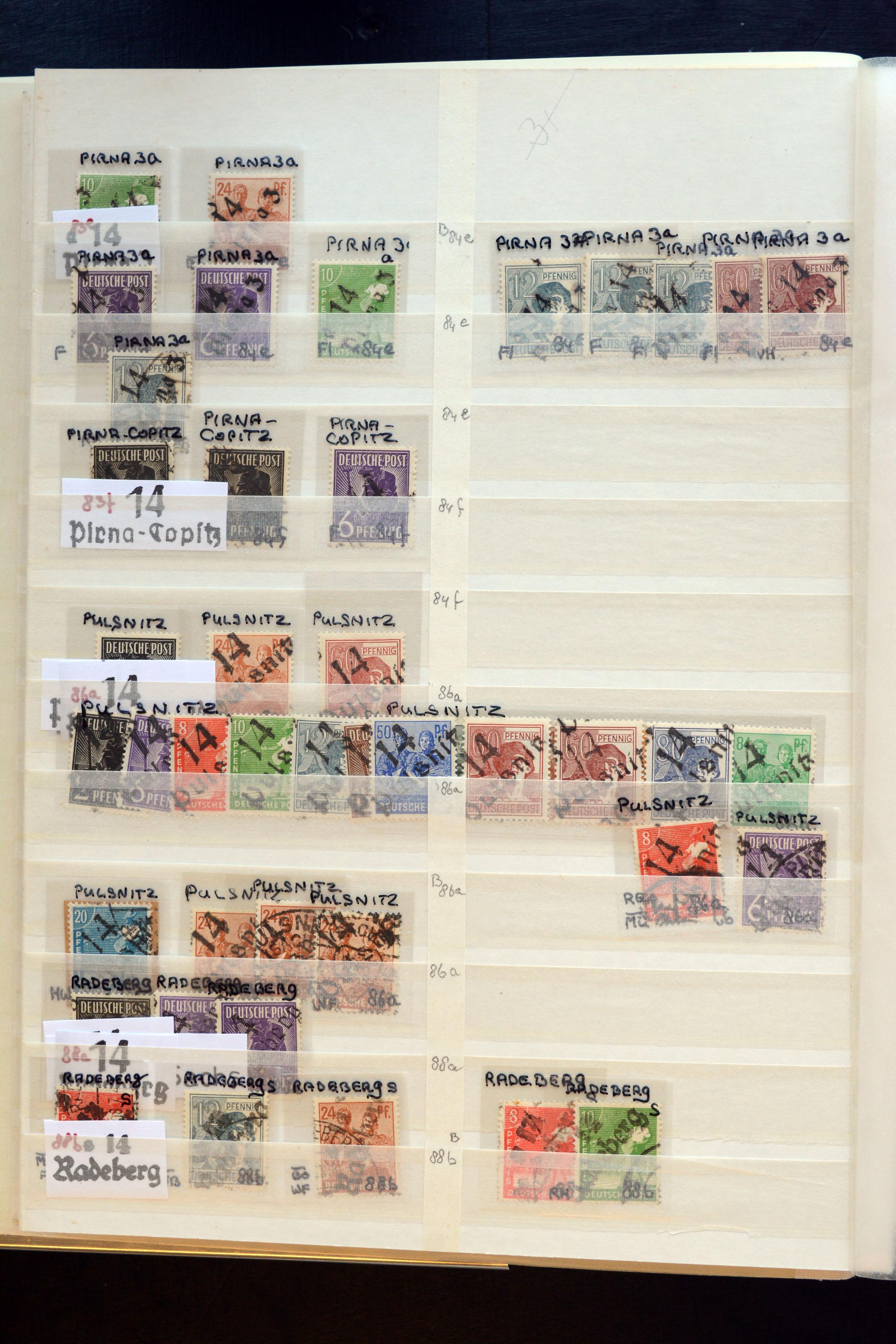 Lot 5153 - sbz (soviet occupation zone) SBZ - Handstamp overprints -  Heinrich Koehler Auktionen Auction #368- Day 3