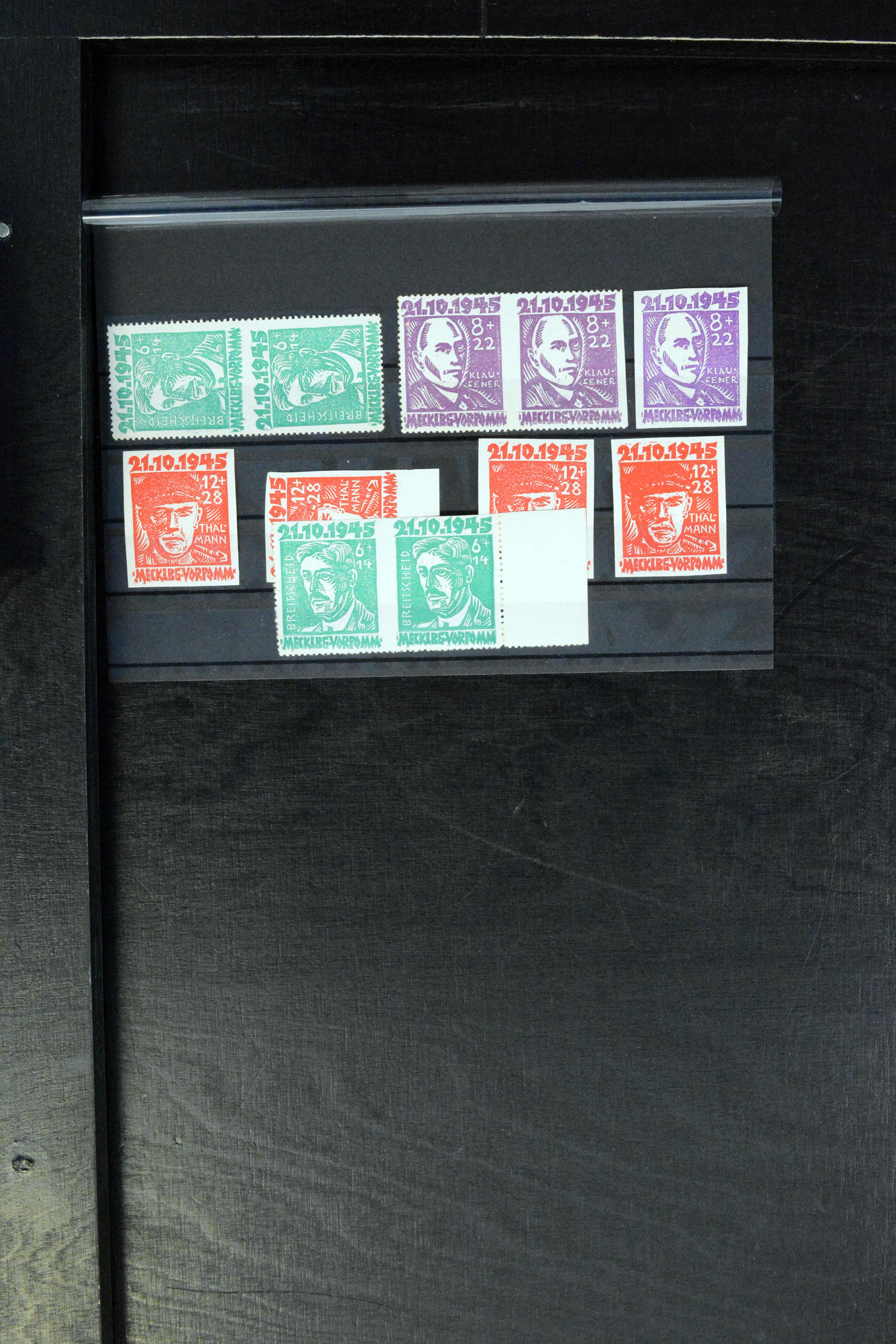 Lot 5146 - sbz (soviet occupation zone) Mecklenburg-Vorpommern -  Heinrich Koehler Auktionen Auction #368- Day 3