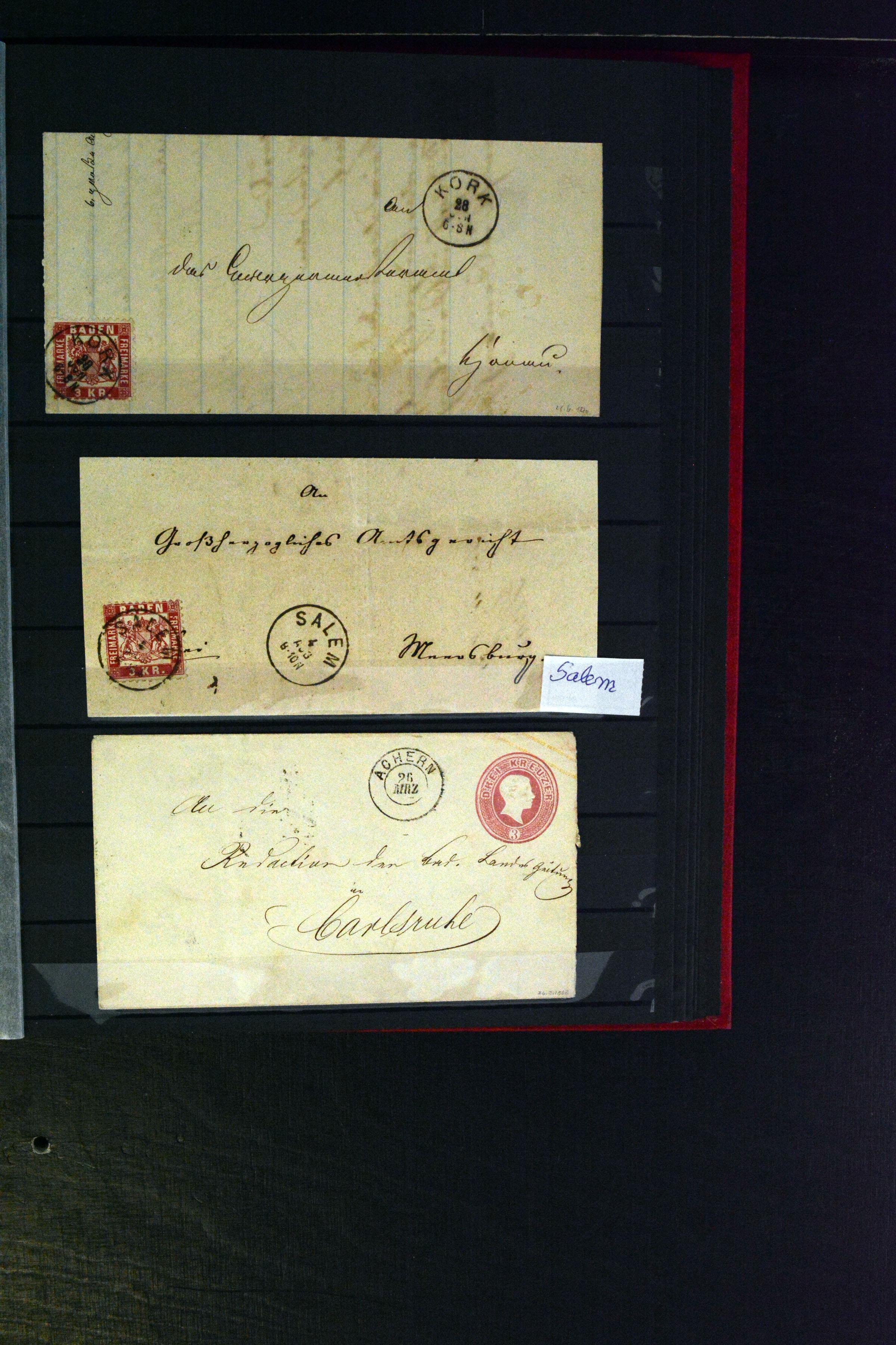 Lot 4636 - german states Baden -  Heinrich Koehler Auktionen Auction #368- Day 3
