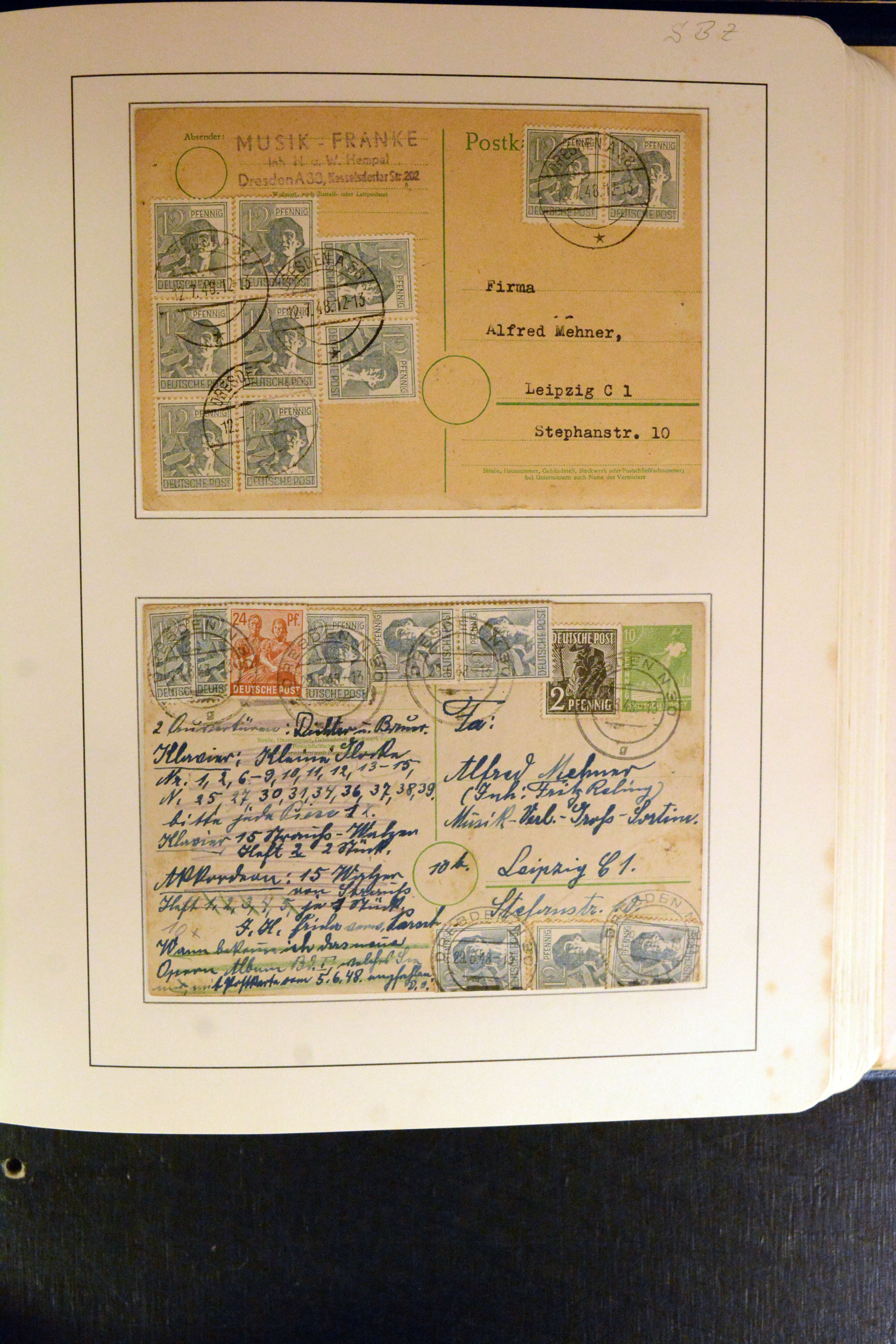 Lot 5131 - germany after 1945 sbz (soviet occupation zone) -  Heinrich Koehler Auktionen Auction #368- Day 3