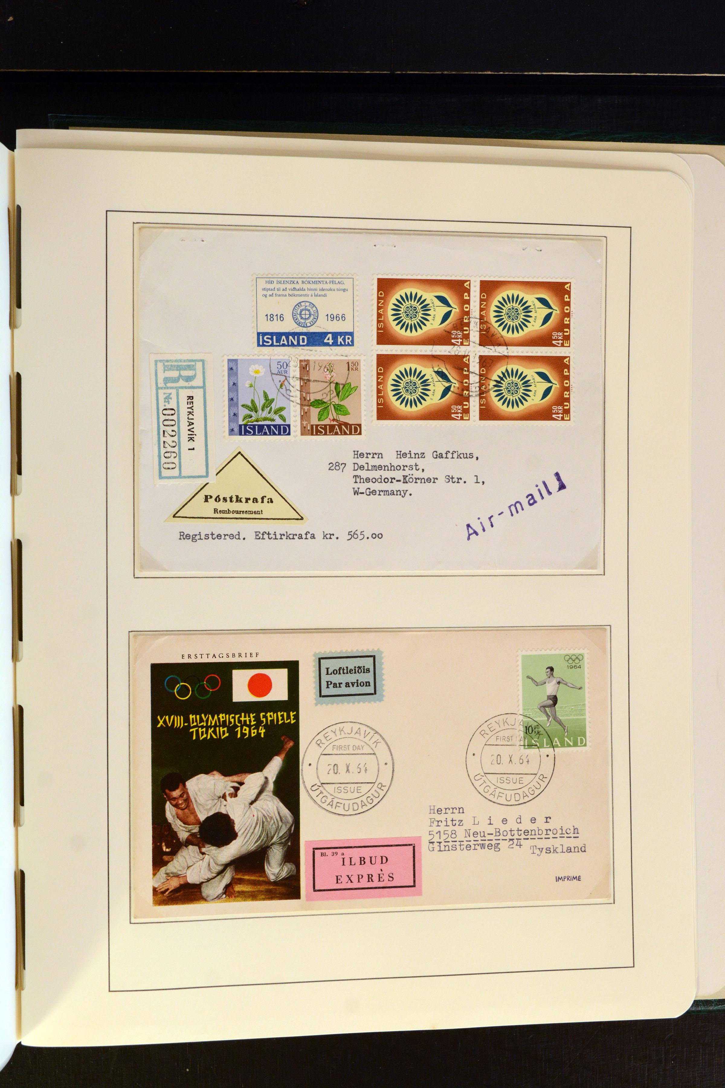 Lot 4187A - europe Iceland -  Heinrich Koehler Auktionen Auction #368- Day 3