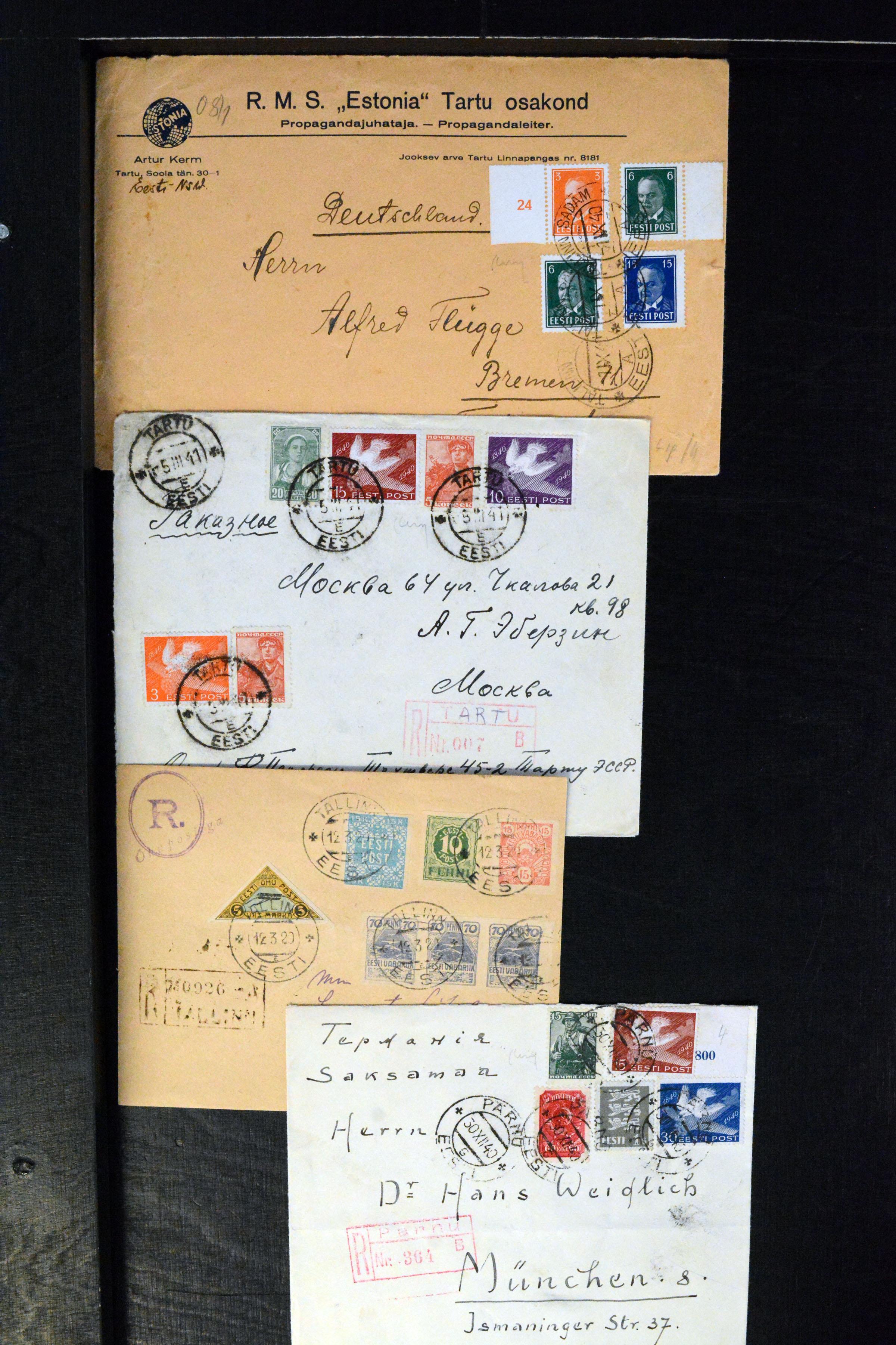 Lot 4070 - europe estonia -  Heinrich Koehler Auktionen Auction #368- Day 3