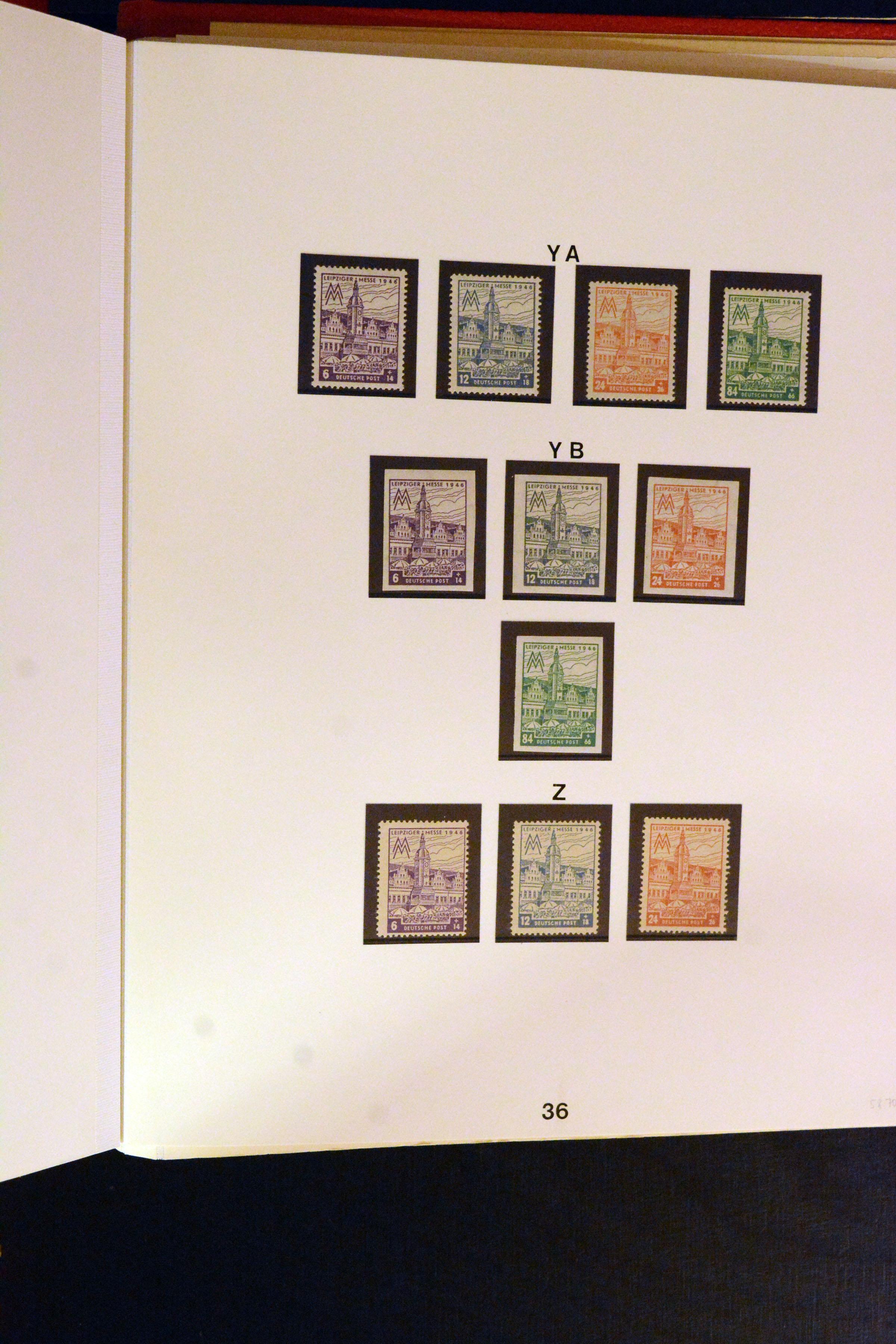 Lot 5130 - germany after 1945 sbz (soviet occupation zone) -  Heinrich Koehler Auktionen Auction #368- Day 3