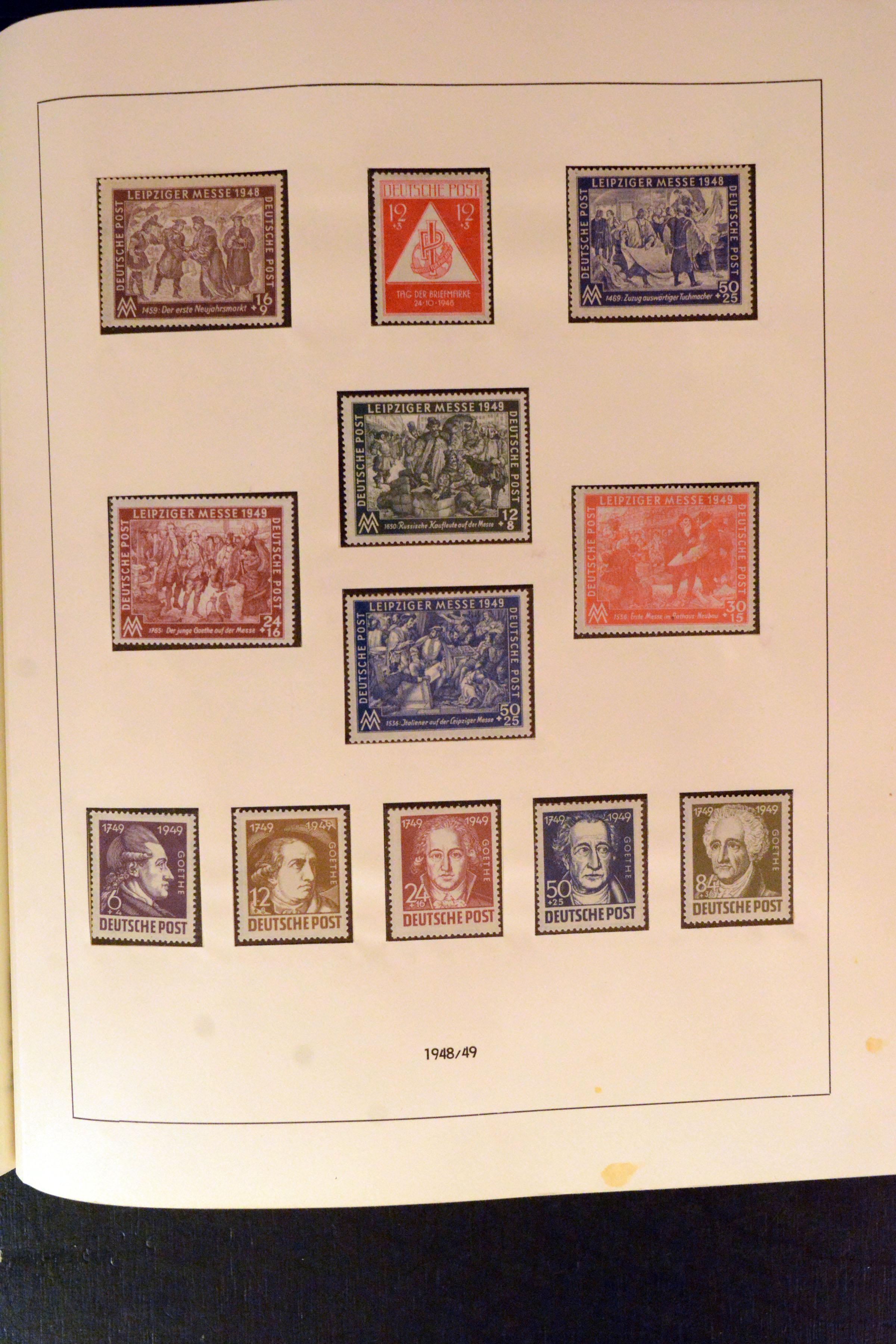 Lot 5134 - germany after 1945 sbz (soviet occupation zone) -  Heinrich Koehler Auktionen Auction #368- Day 3