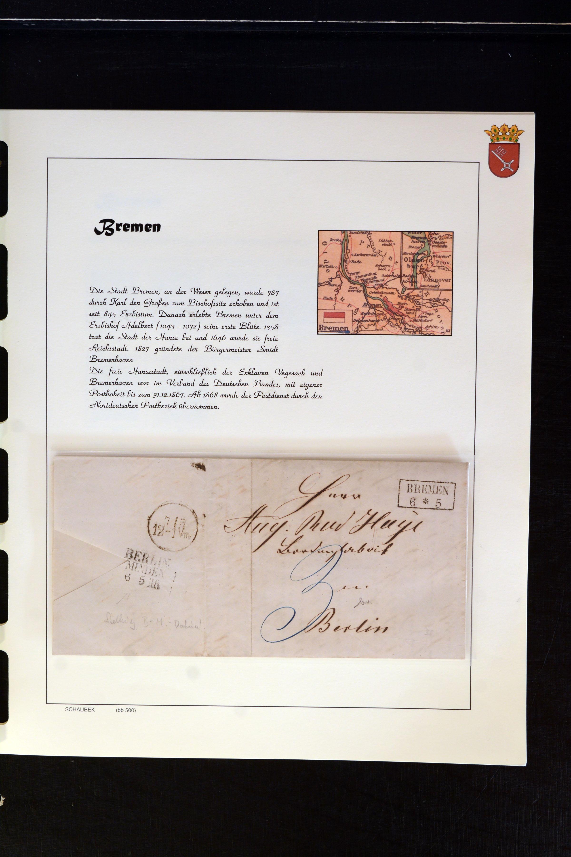 Lot 4663 - german states bremen -  Heinrich Koehler Auktionen Auction #368- Day 3