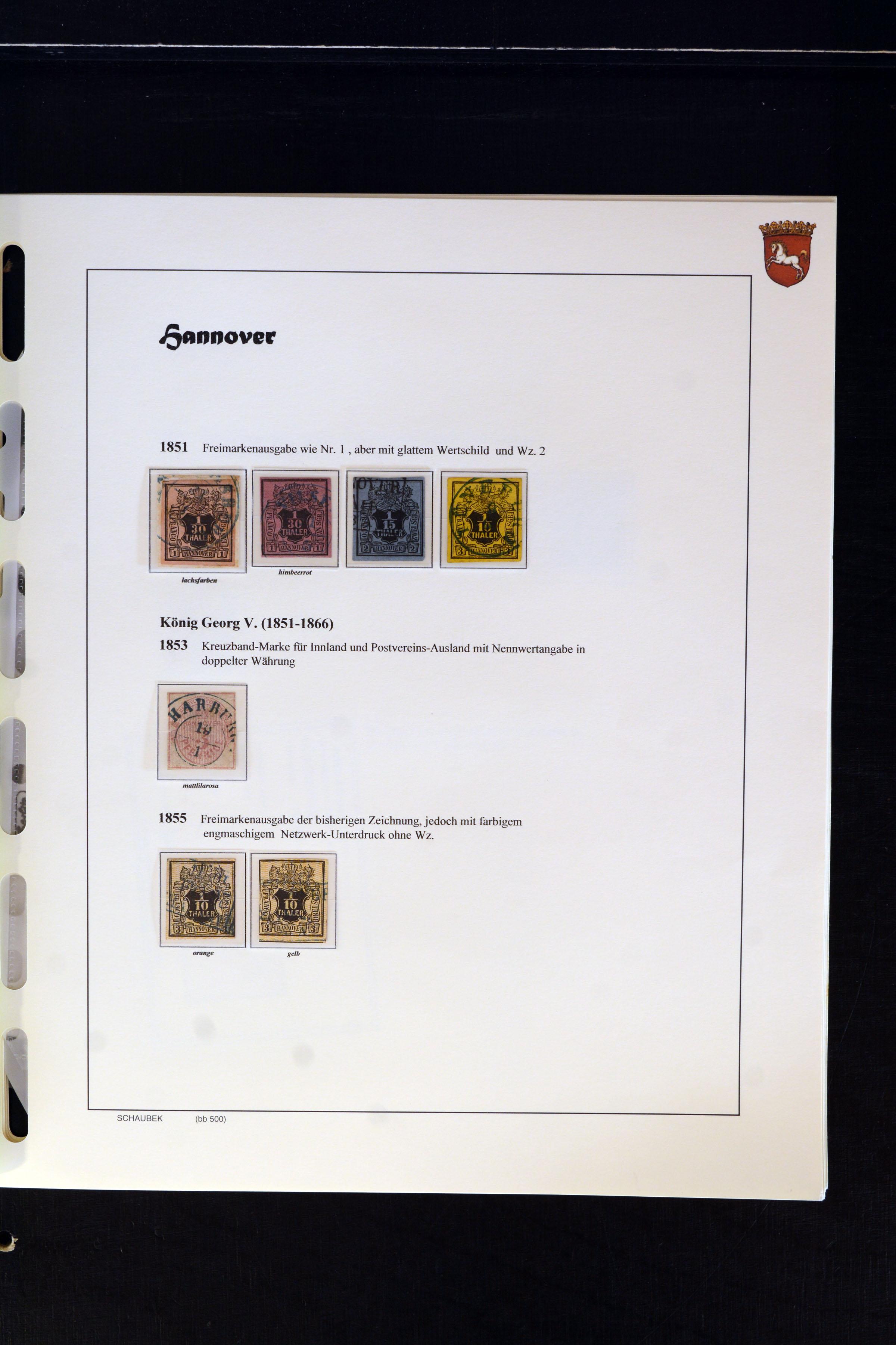 Lot 4670 - german states hannover -  Heinrich Koehler Auktionen Auction #368- Day 3