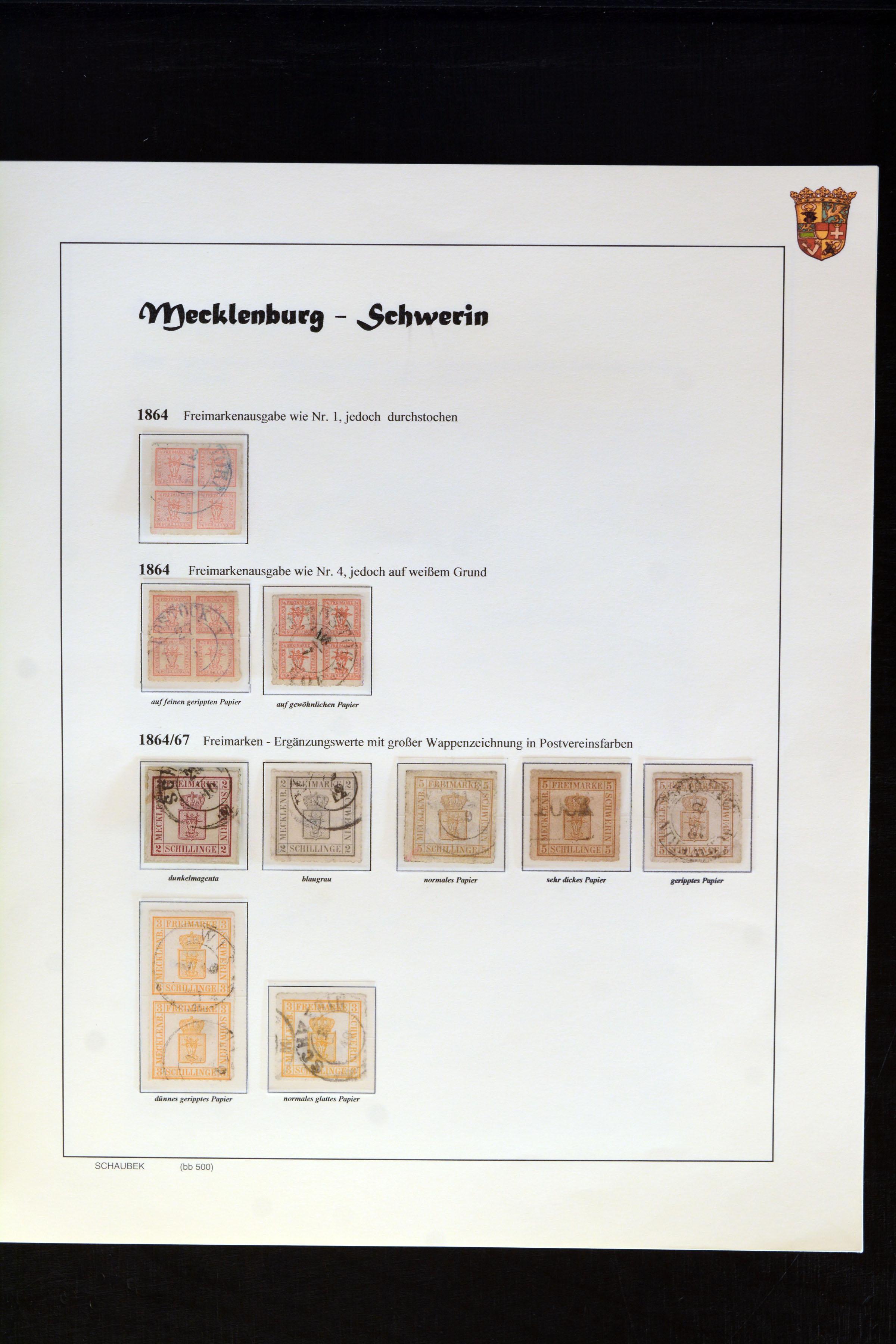 Lot 4677 - mecklenburg-strelitz Mecklenburg-Schwerin and -Strelitz -  Heinrich Koehler Auktionen Auction #368- Day 3