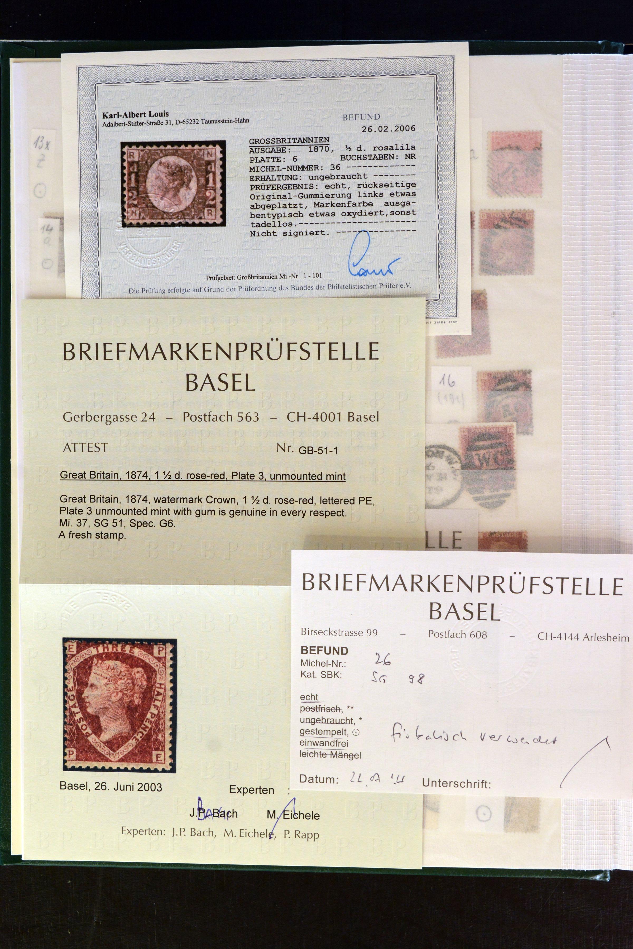 Lot 4131 - Main catalogue Great Britain -  Heinrich Koehler Auktionen Auction #368- Day 3