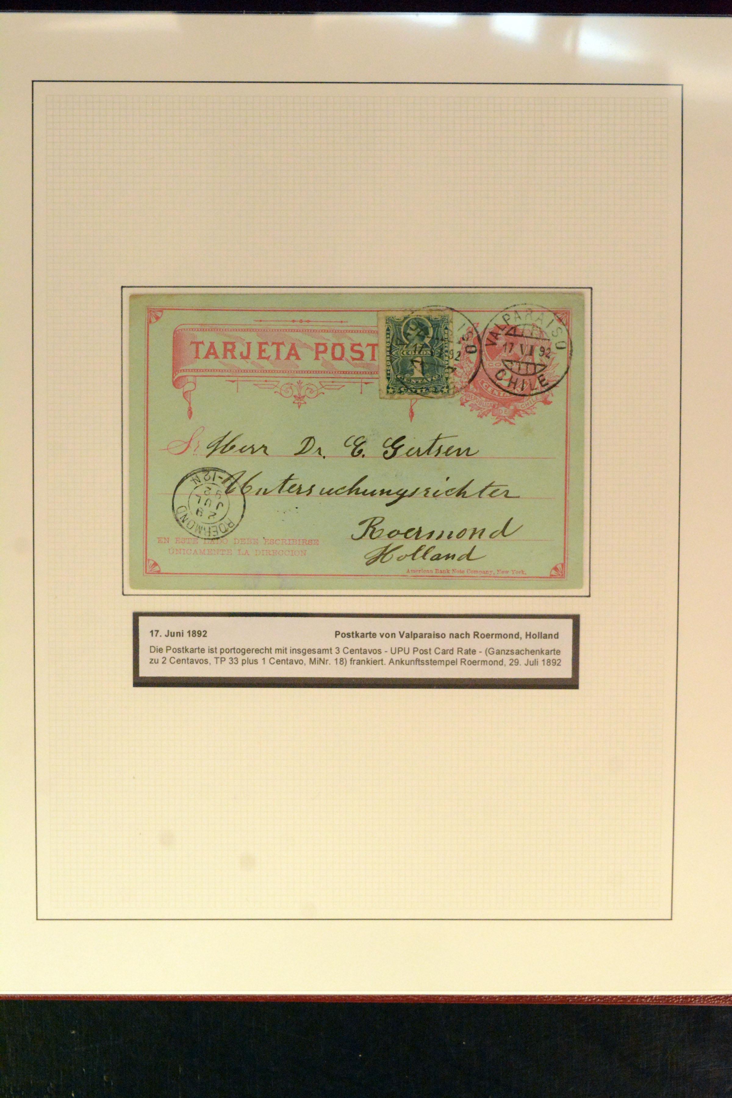 Lot 4420 - Overseas Chile -  Heinrich Koehler Auktionen Auction #368- Day 3