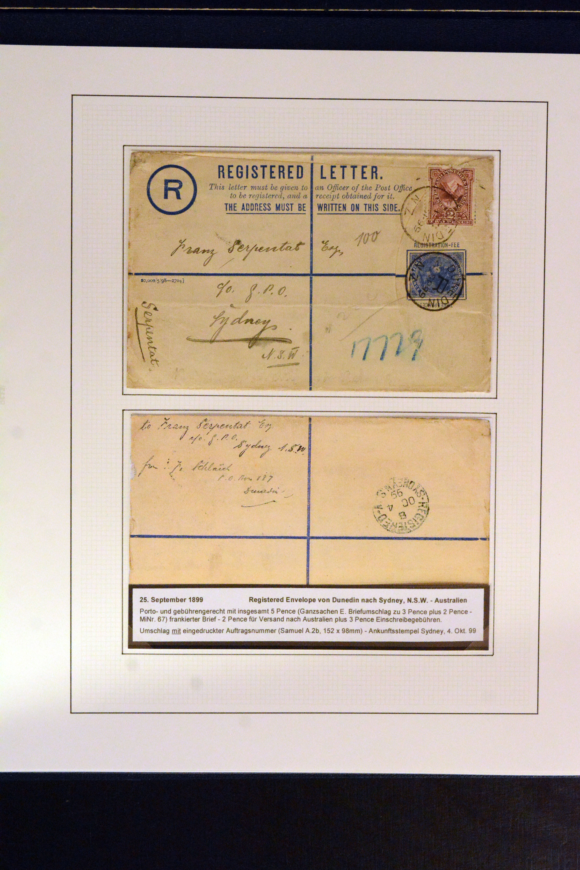 Lot 4180 - British Commonwealth New Zealand -  Heinrich Koehler Auktionen Auction #368- Day 3