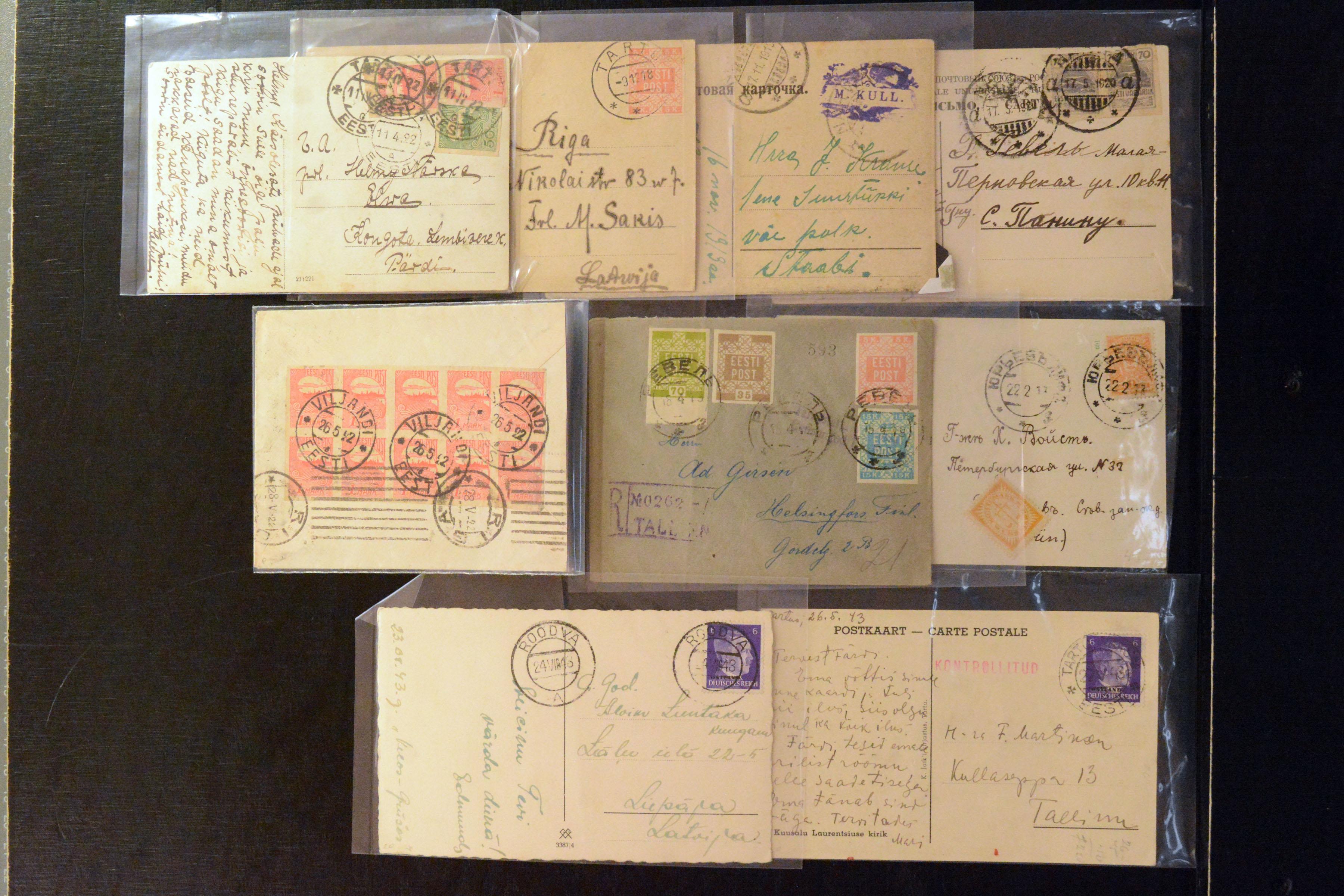 Lot 4072 - europe estonia -  Heinrich Koehler Auktionen Auction #368- Day 3